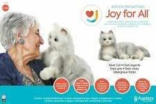 Joy for All Companion Pet Cat  Silver With White Mitts Brand new in box