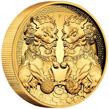 Australien 200 Dollar 2020 Double Pixiu / Wächterlöwen 2 Oz Gold PP High Relief