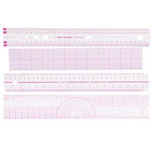 Sewing Ruler Set Designer Illustration Ruler Clothing Measuring Tools GO