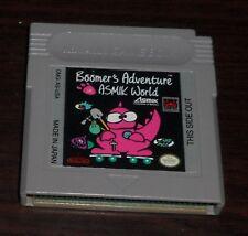 Nintendo Game Boy. Boomer's Adventure in Asmik World. DMG-AS-USA