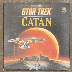 Star Trek Settlers of Catan Settling Final Frontier Board Game Complete #3003