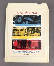 THE POLICE SYNCHRONICITY 1983 USA 1st EDITION 8 TRACK TAPE REFURBISHED! NEW PAD!