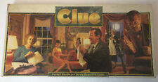 CLUE Detective Board Game 1992 100% COMPLETE Parker Brothers