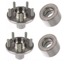 FRONT WHEEL HUB  BEARING FOR 1990-1993 TOYOTA CELICA 5 STUD PAIR NEW LOWER PRICE