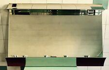 Enorme Raro Specchio 4 luci design anni '70 Fontana Arte vintage Modernariato