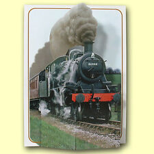 Pictoria Press Imported 3D Greeting Card - TRAIN FULL STEAM AHEAD - #PIC-216