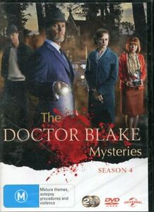 The Doctor Blake Mysteries Series Four 4 DVD NEW Region 4