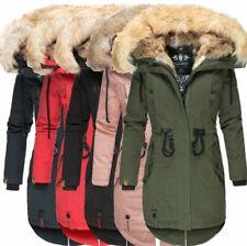 Navahoo Luxus sehr warm FVS4 Damen Winter Jacke Parka Mantel BOMBII Baumwoll