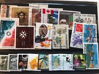 Canada 21 stamps used very fine all different bargain