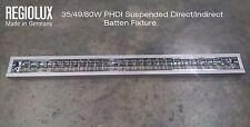 Regiolux 1x35/49/80W PHDI Suspended Direct/Indirect Batten Fixture - 1530mm