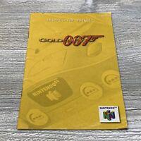 N64 Goldeneye 007 Instruction Booklet Only Nintendo 64 Authentic Original Manual