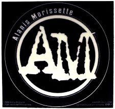 Sticker Alanis Morissette Am Initials Logo Alternative Rock Music Band Decal