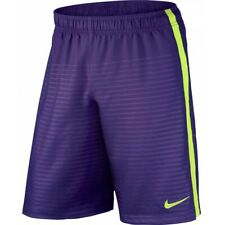 BNWT NIKE GRAPHIC FITNESS PURPLE VOLT SHORTS - SIZE ADULT SMALL / BOYS XL RP £24