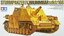 STURMPANZER IV BRUMBAR SD.KFZ 166 ASSAULT SPG (GERMAN MKGS) #35077 1/35 TAMIYA