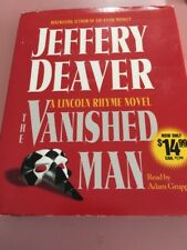 jeffrey deaver vanished man audio cassette