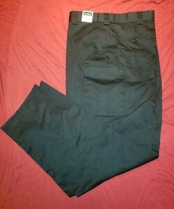 NWT TACT SQUAD Black Cargo Pocket Tactical Uniform Pants Men's Size 48 T7004BK