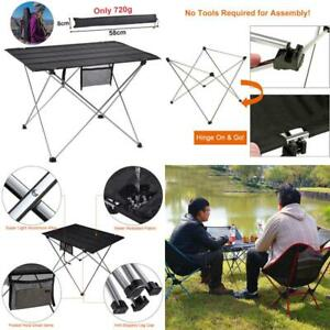 Folding Camping Table Outdoor Furniture Portable Hiking Foldable Picnic Tables A