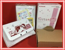 Nintendo 3DS Ll Incluido Japón Nuevo Love Plus + Nene de Lujo Completo Set