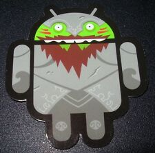 """ANDROID DROID Sir Knightly Bild robot logo Sticker 2.5"""" Google andrew bell"""