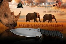 Tops Knives Silent Hero 1095 High Carbon Steel