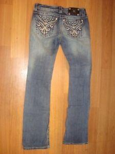 MISS ME signature boot cut jeans size 30