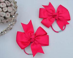 School Hair Bobbles. Bows, Clips, Clasps, Slides. Party Shows Fancy dress Ballet