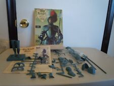 VINTAGE 1974 AURORA BLUE KNIGHT MODEL IN ORIGINAL BOX WITH INSTRUCTIONS