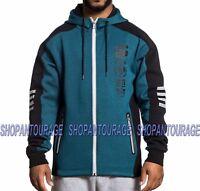 AMERICAN FIGHTER Spot Light 331OW078 New Blue/Black Men`s Zip Hood Jacket