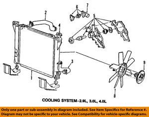 FORD OEM-Engine Water Pump 6L2Z8501A