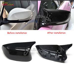 For INFINITI Q50 Q60 Q70 QX30 2014+ OX M3 Glossy Black Side Mirror Cover Replace