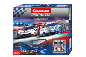 Carrera Digital 132 30012 GT Face Off 1/32 Slot Car Racing Set