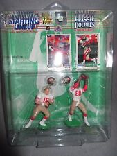 New Nip Starting Line Up Classic Doubles 1997 Edition Joe Montana Jerry Rice*