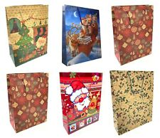 12 x Extra Large Christmas Gift Bags Gift Packaging Xmas Present Wrapping