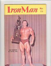 IRONMAN bodybuilding muscle magazine/RON THOMPSON & SCOTT WILSON 11-74