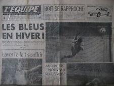 CYCLISME ZOETEMELK VAN IMPE FOOT ANDERLECHT FERENCVAROS JOURNAL L'EQUIPE 1977