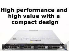 "DELL PowerEdge R410 1U 2 x E5530 2.40Ghz 16GB DDR3 Ram 2 x 146GB SAS 3.5"" caddy"