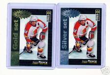 1995-96 UD CC THEOREN FLEURY CRASH GOLD & SILVER CARDS