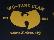 WU TANG CLAN SHIRT MENS MEDIUM BLACK