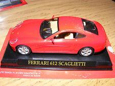 Ferrari 612 Scaglietti Racing Red with Tan trim1:43 rd Scale  Diecast Model