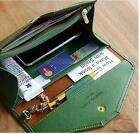 Women Wallet Envelope Vintage Clutch Case Phone Money Bag Purse Card Holder