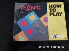 Puzznic (NES Nintendo) Instruction Manual Only. NO GAME / Buy 10 & FREE Shipping