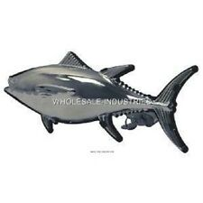 TUNA FISH TRAILER HITCH COVER PLUG STAINLESS STEEL FISHING W/ LOCKING PIN WICKED