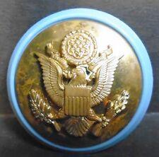 US Military E. PLURIBUS UNUM Eagle Crest Emblem Screw Back Pin