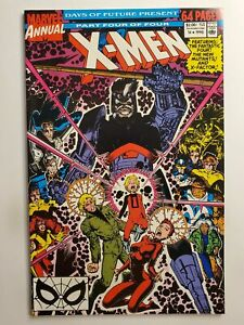 X-MEN ANNUAL #14 (NM) 1990 1st GAMBIT APP FANTASTIC FOUR! NEW MUTANTS! X-FACTOR!