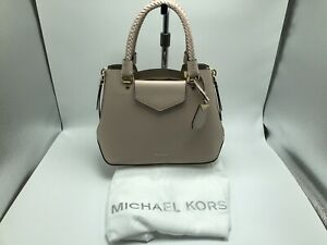 NWT Michael Kors Blakely Medium Messenger Bag Soft Pink MSRP $398