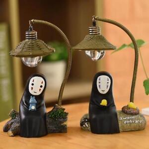 LED Lamp No Face Man Night Light Miyazaki Hayao Spirited Away Girls Toy Gift