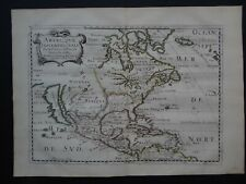 1662 SANSON Atlas map Americque Septentrionale - North America California island