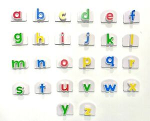 """Leap Frog Fridge Phonics Replacement Magnetic Lower Case Individual Letters 1.7"""""""