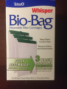 Tetra Whisper Bio Bag Disposable Filter Cartridges