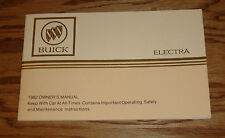 Original 1982 Buick Electra Owners Operators Manual 82
